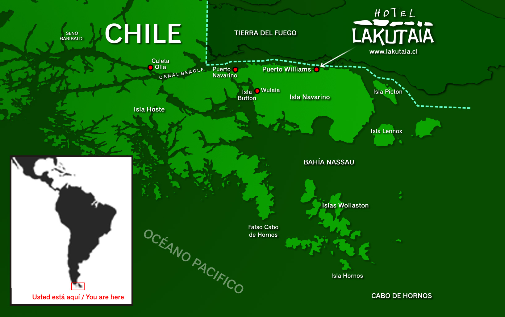 Cape Horn Map How To Sailing And Visit This Extreme Region - Argentina cape horn map